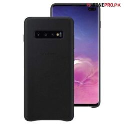 Official Leather Back Cover Galaxy S10 Plus price in Pakistan