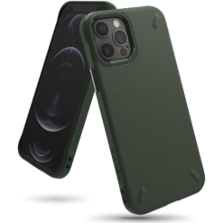 Ringke Onyx Case Designed for iPhone 12 Pro Max (2020) - Dark Green