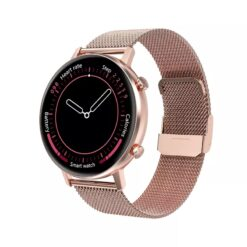 DT96 Smart Watch With Bluetooth Call   Pink Steel